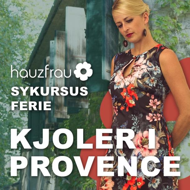 Kjoler i Provence - Hauzfrau Sykursus Ferie 31 august - 7 september 2019 (Depositum)