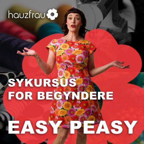 Hauzfrau Easy Peasy - et begynderkursus 15 september 2019
