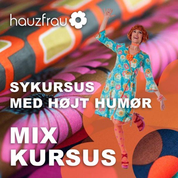 Hauzfrau SensommerMix Kursus 15 august i Ringe på Fyn