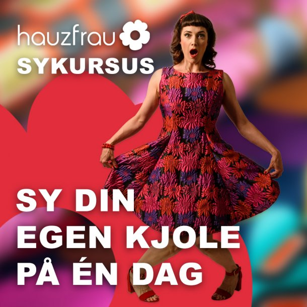 Kjole Kursus 3 oktober i Ringe på Fyn
