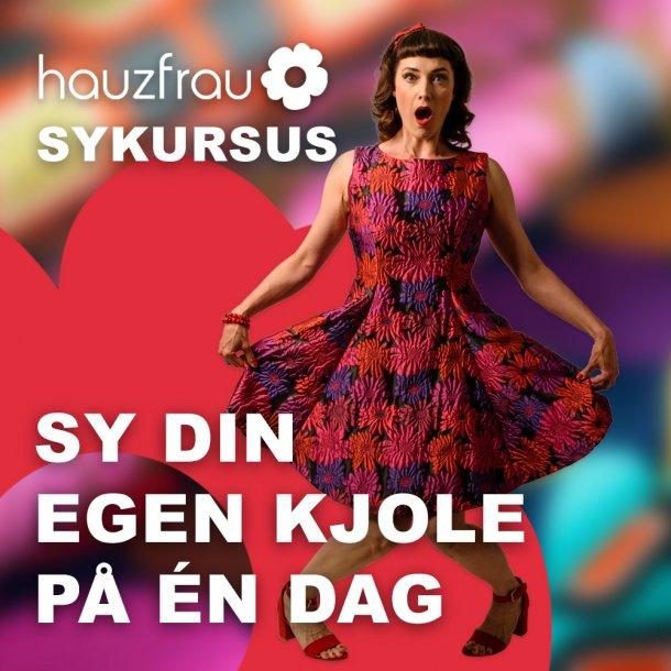 Kjole Kursus 23 marts 2021 i Næstved