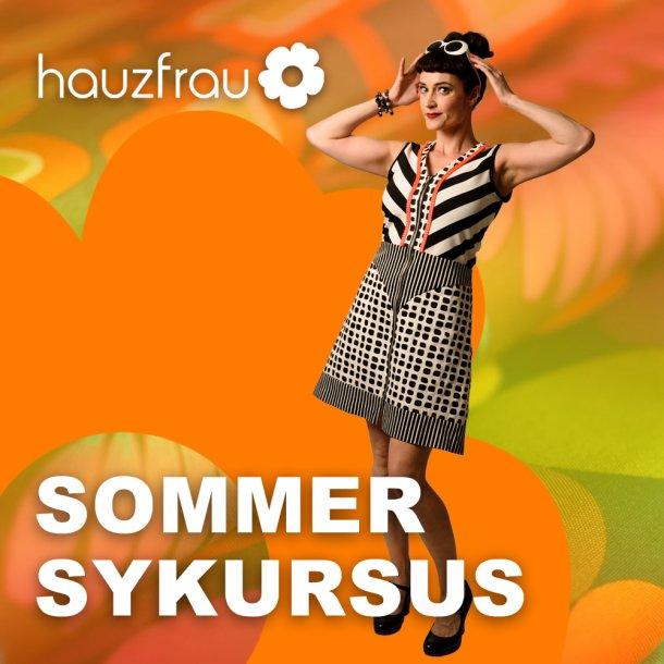Hauzfrau Weekend Sommer Sykursus 25-27 juni 2021